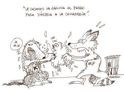 Zorros y comadrejas...