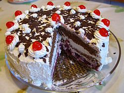 Black Forest cake - Wikipedia, the free encyclopedia
