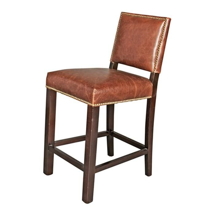 Weston Counter Stool in Antique Saddle