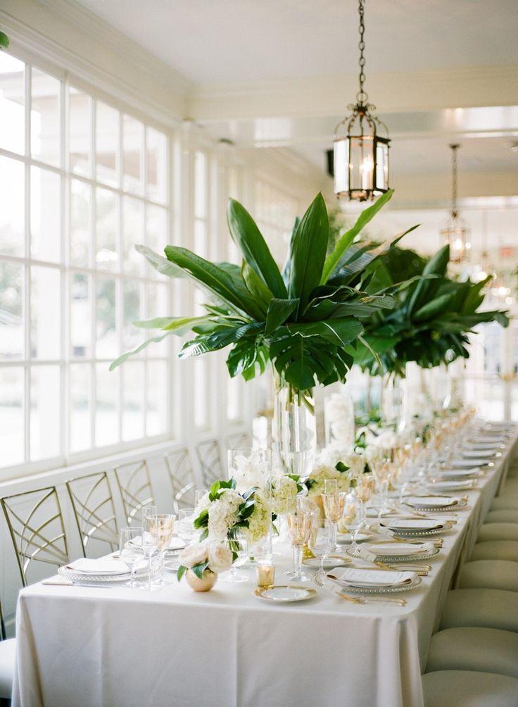 Inside a Southern Wedding Inspired by Ernest Hemingway via @MyDomaine