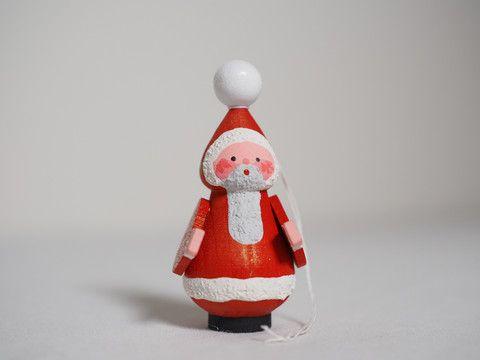 Small santa ornament (single) – Adornare