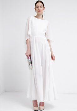 Swing - Długa sukienka - cremeweiß