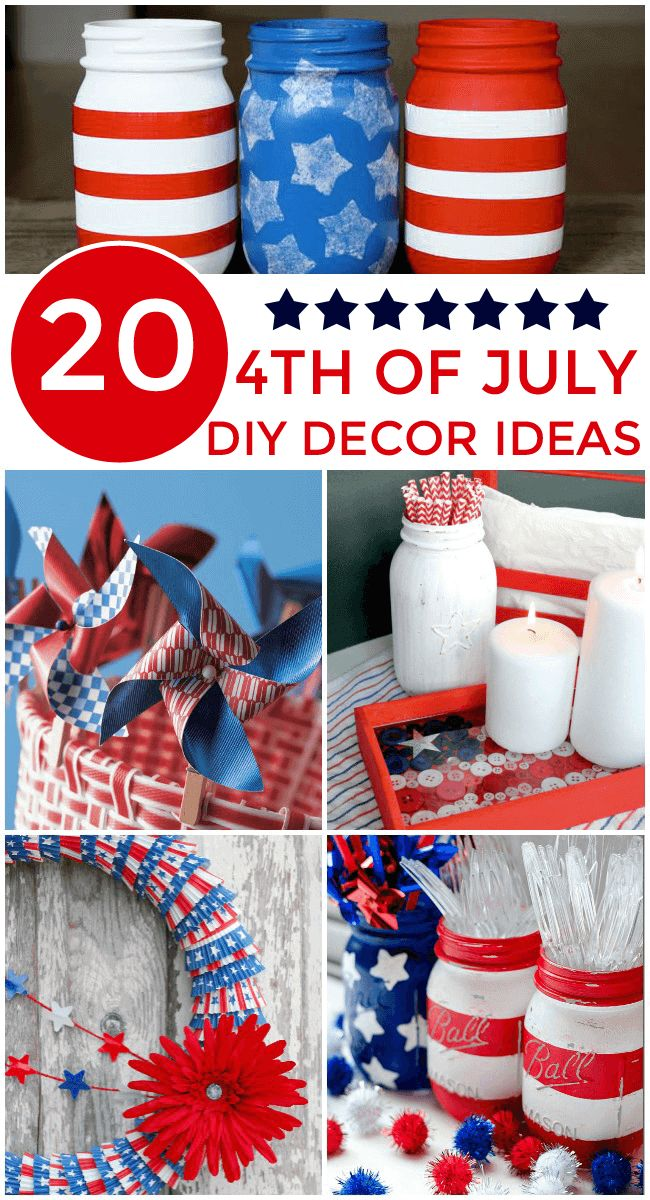 4th july decorations make