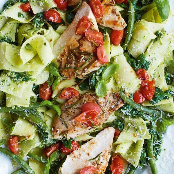 Jamie Oliver 15 Minuten Küche Pasta Pesto | Jamie Oliver 30 ...