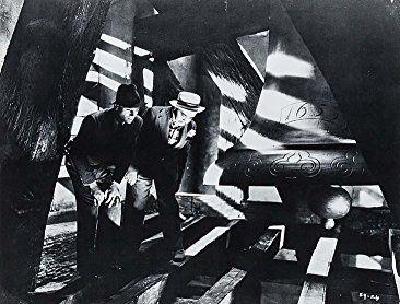 John Gielgud and Peter Lorre in Secret Agent (1936)