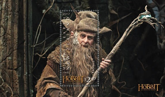 Radagast - The Hobbit: An Unexpected Journey Stamp