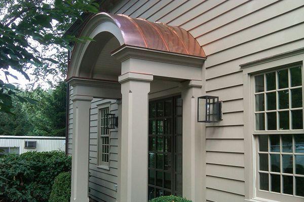 Arched Copper Portico Furniture Design Ideas And Home