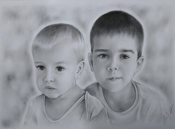 Unique Gift  Custom Original portrait from your photo Oil on