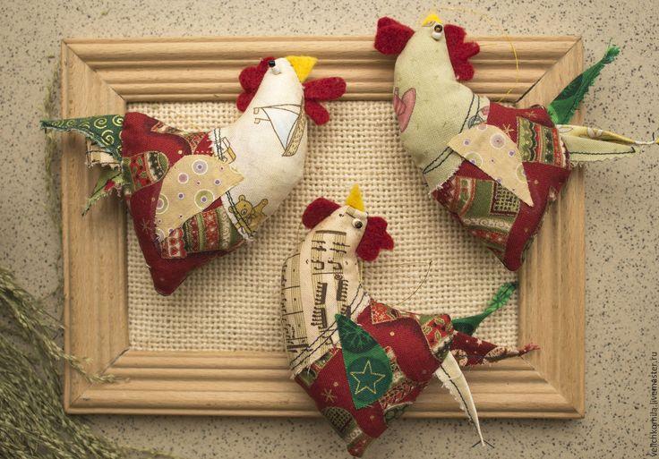 Купить Текстильная куколка Петушок - комбинированный, петух, петушок, текстильная игрушка, текстиль для интерьера, хлопок
