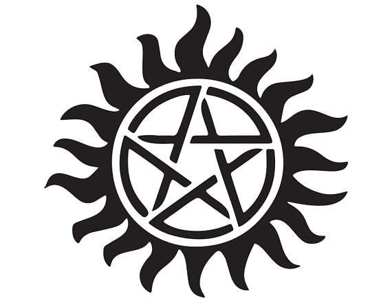 Anti Possession Tattoo Supernatural Themed Decal
