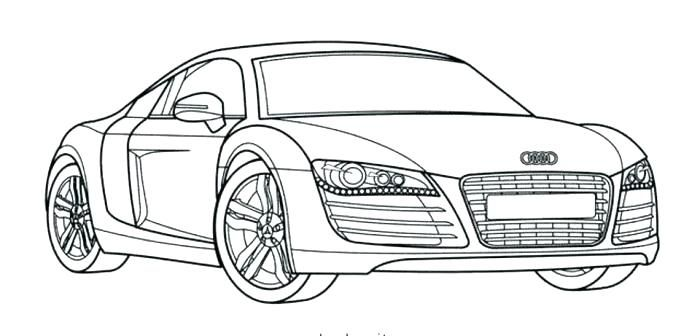 Image Result For Car For Coloring Pages