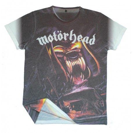Tricou Allover Motorhead: Orgasmatron