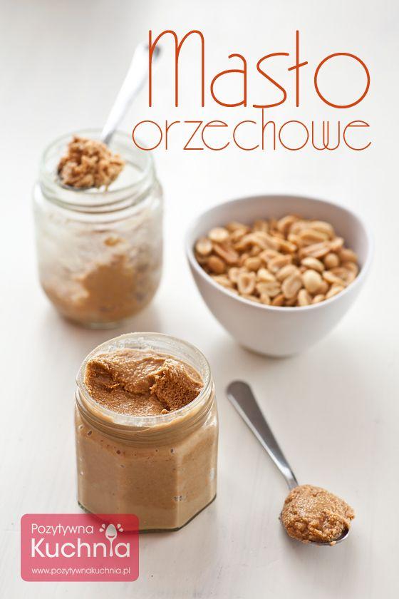 Masło orzechowe z orzeszków ziemnych znanych też jako orzechy arachidowe. Prawdziwe, domowe peanut butter :).  http://pozytywnakuchnia.pl/maslo-orzechowe/  #przepis #kuchnia #howto