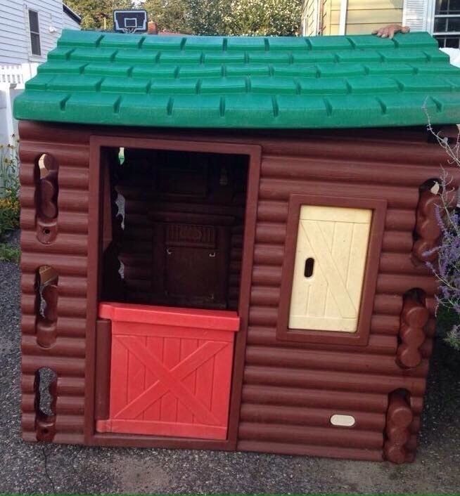 Vintage Little Tikes Log Cabin Playhouse – P U Bethpage Long Island NY Only | eBay