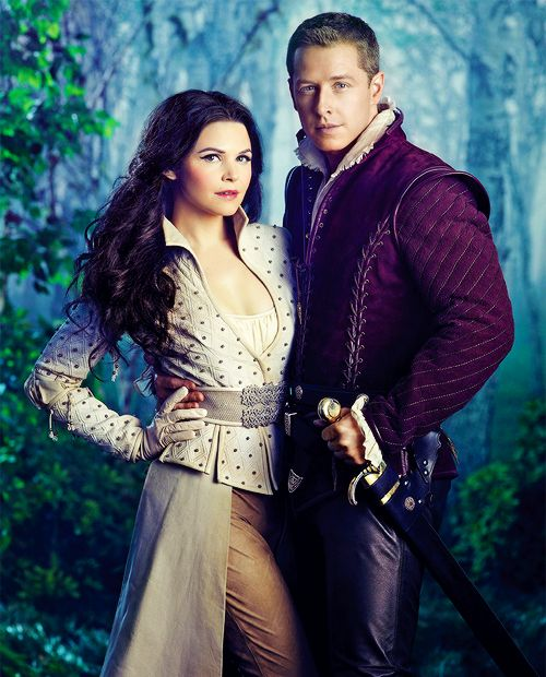 Snow and Charming on Once Upon a Time - Willa's favorite show. She does love her fairy tales.