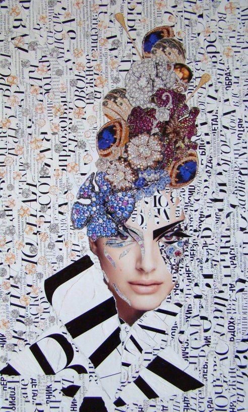 emilia elfe handmade collage art pinterest collage und bilder. Black Bedroom Furniture Sets. Home Design Ideas