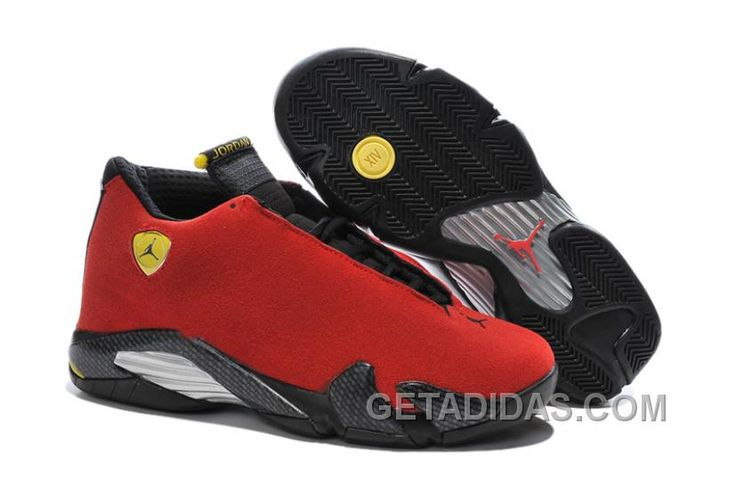 "http://www.getadidas.com/2017-air-jordan-14-ferrari-chilling-red-black-vibrant-yellow-authentic-8wkbydx.html 2017 AIR JORDAN 14 ""FERRARI"" CHILLING RED/BLACK VIBRANT YELLOW AUTHENTIC 8WKBYDX Only $97.00 , Free Shipping!"