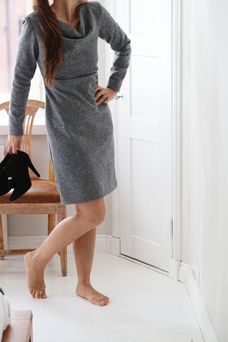 Woolen dress by Burda