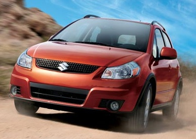 mine's silver but its still the same SX4 Crossover!