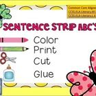 Sentence Strip ABC's is a great resource for re-enforcing letter recognition and printing skills.  Your kiddos will love making sentence strips int...