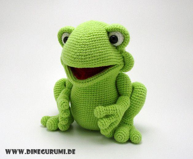 16 besten frosch frog crochet Bilder auf Pinterest | Frösche ...