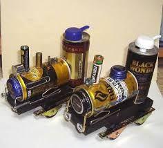 「空き缶 工作」の画像検索結果