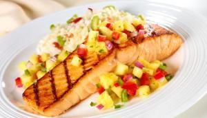 salmon & Salsa