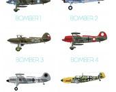 Vintage airplanes.: Airplane Paintings, Vintage Airplane