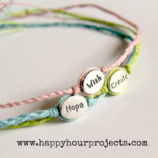 Word Bracelets Make yellow ones with Faith, Hope, Honor, Strength, etc. Give away or kids can make them at party as going away gift to remember Matt. Now to find the beads...