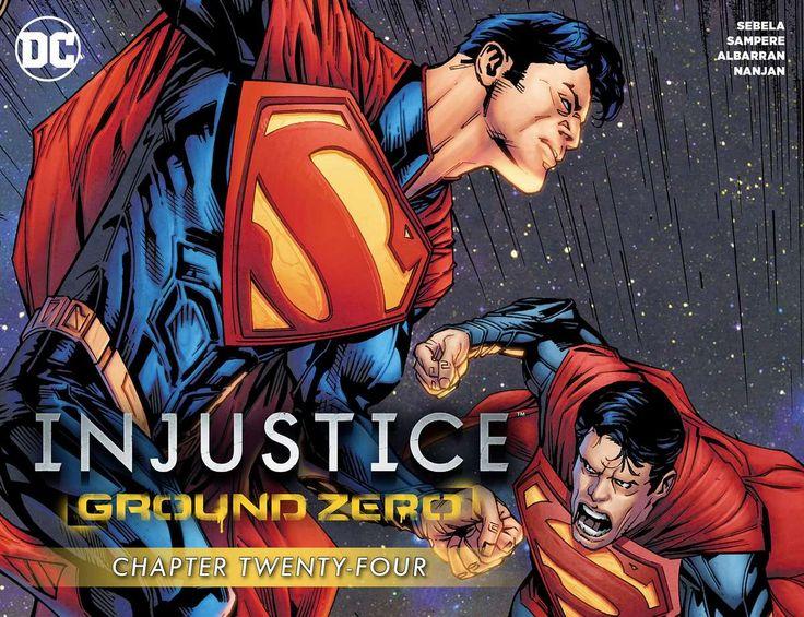 Injustice Ground Zero 2016 Issue 24 page 1 online