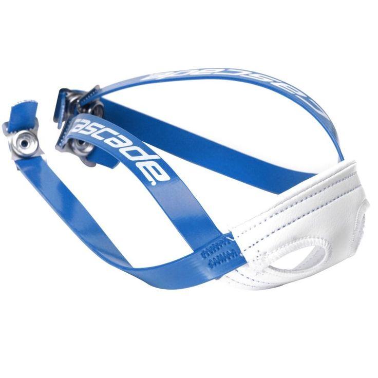 Cascade Lacrosse Helmet Chin Strap, Blue