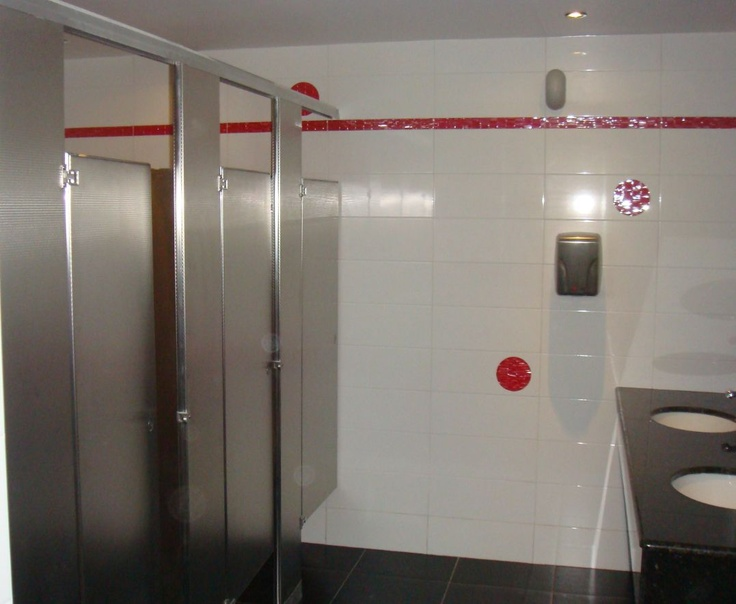 Hilton Curacao Casino And Resort In Curaco #Stainless Steel Diamond Finish #Toilet  Partitions By