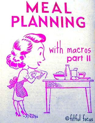 Time for Meal Planning With Macros Part II! Trying to hit those macro goals? Check out these helpful IIFYM tips!