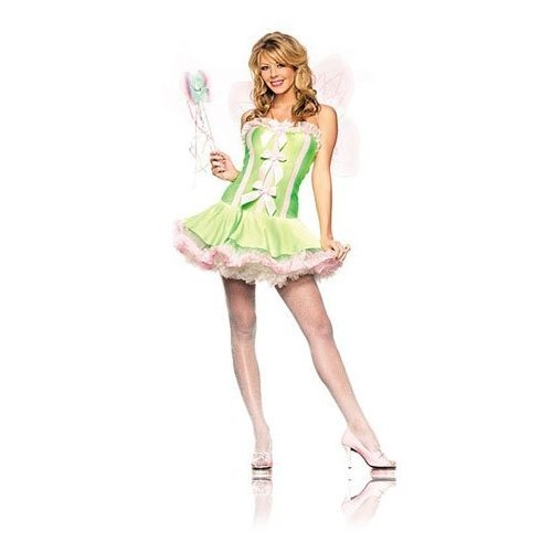 Tinker Bell / Green Fairy Adult Women's Costume  (as base for Poisoin Ivy)