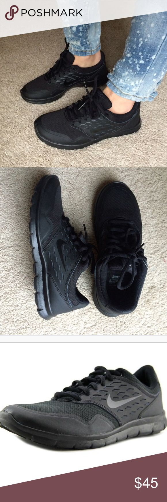 New nike orive nm sneaker black 6 New- bought and were too small, never worn, only tried on inside. Nike orive nm all black sneakers, perfect for casual wear or running. NO TRADES Nike Shoes Sneakers