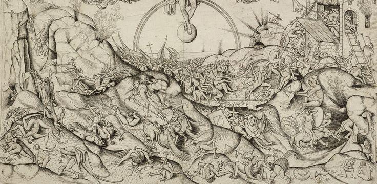 Zu sehen ist: Alart du Hameel, Das Jüngste Gericht (Detail)