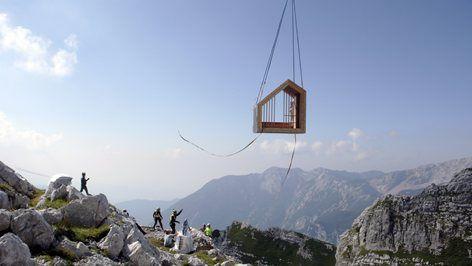 Alpine Shelter Skuta, 2016 - OFIS Arhitekti
