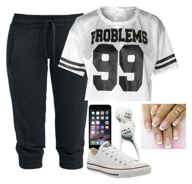 """""""Ma period outfit gotta be comfy"""" by littlekidsneakerhead ❤ liked on Polyvore"""