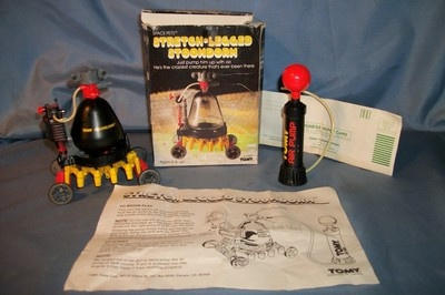 Vintage TOMY Space Pets Toys Stoomdorm Pump W Box Instructions Complete 5008