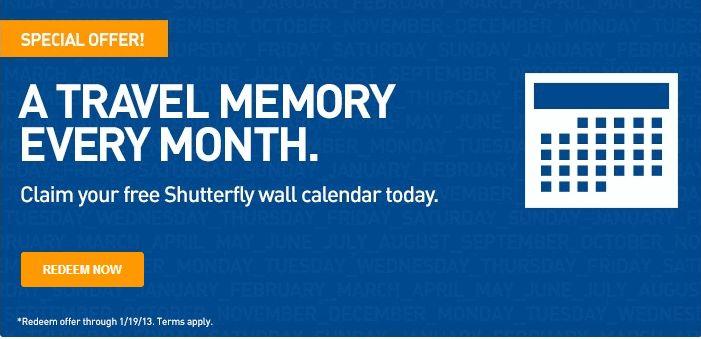 *HOT* Get a Free Calendar at Shutterfly
