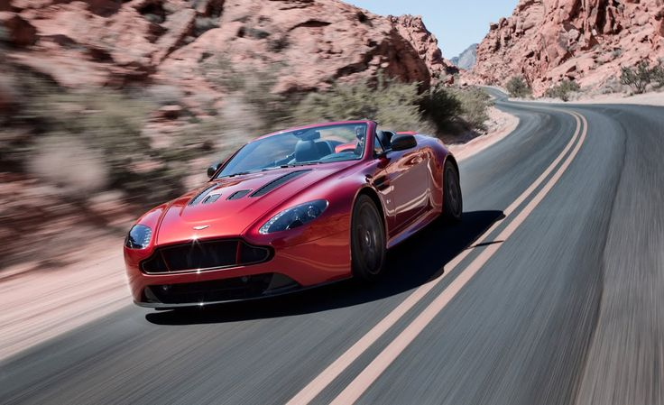 2015 Aston Martin V8 Vantage Sport, Speed Review and Test Drive on the H...