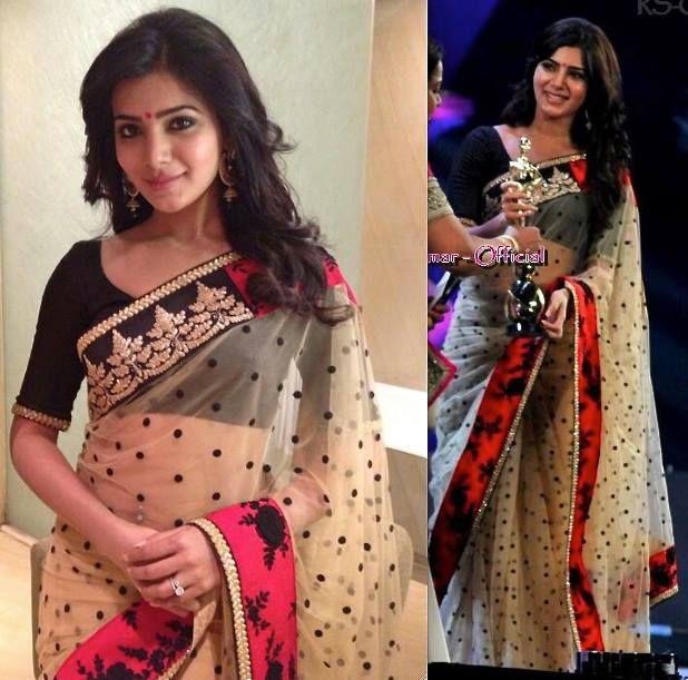 Samantha In Sabyasachi Saree - South India Fashion