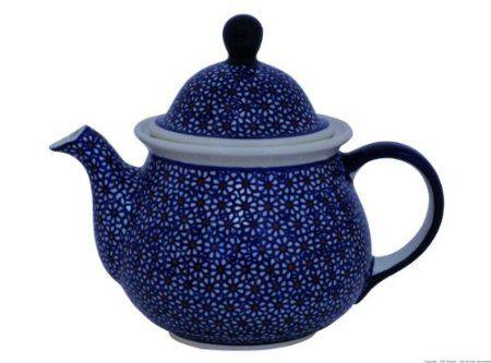 Original Bunzlauer Keramik Retro-Teekanne 1, 7L im Dekor 120: Amazon.de: Küche & Haushalt