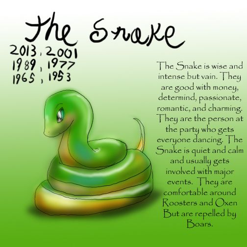 Zodiac The Snake by Dei--dara.deviantart.com on @deviantART