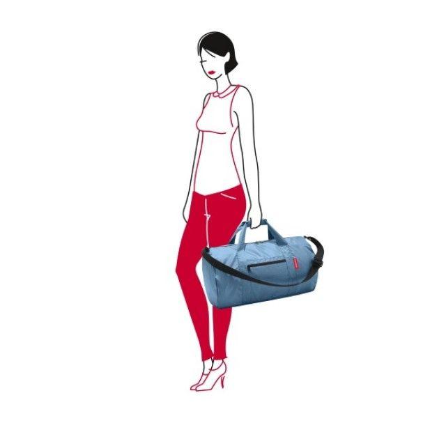 Reisenthel Mini Maxi Foldup Duffle Bag in Indigo Blue