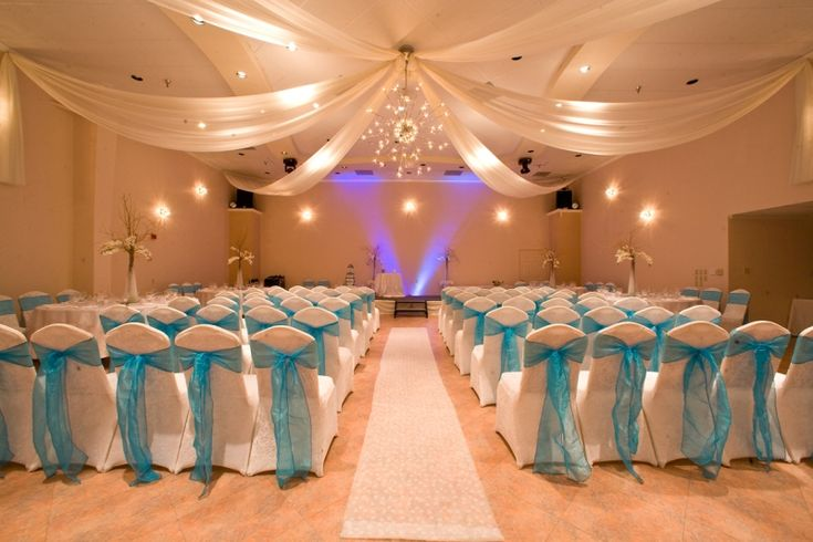 Turquoise Wedding Ideas   ... Demers Grand Ballroom With Turquoise Decor    I DO!   Pinterest   Ballrooms, Turquoise Weddings And Wedding Bells