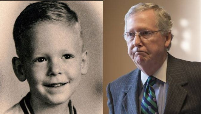 Mitch McConnell beat Polio as a child thanks to Government Healthcare. But that hasn't stopped him from trying to deprive millions of Americans of their health coverage.