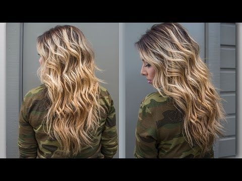 ▶ How to : Perfect Beach Wave Hair! - YouTube