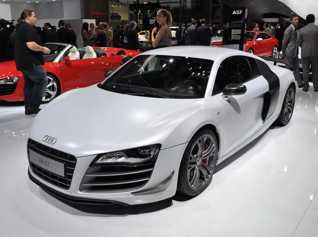 Live Mondial Auto Paris 2010 : Audi R8 GT