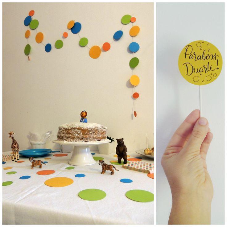 O amor é mágico...: 2 anos e uma festa DIY!